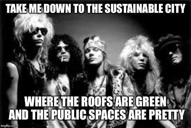 Urban planning meme sustainability