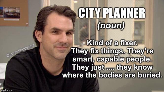Urban planning meme public sector
